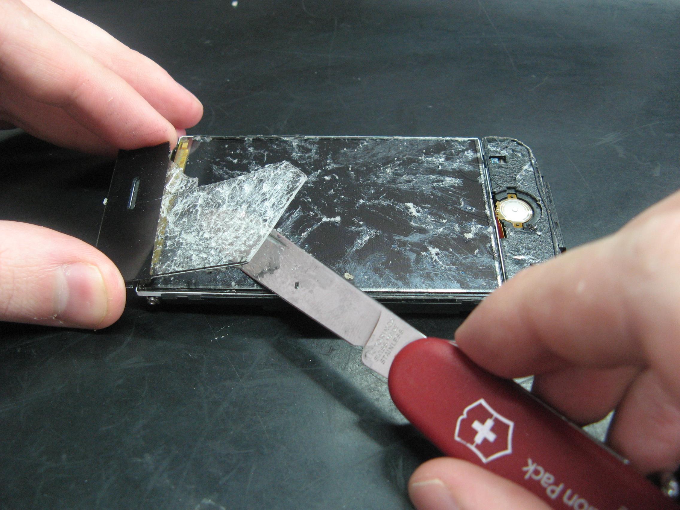 Замена экрана на телефоне своими руками