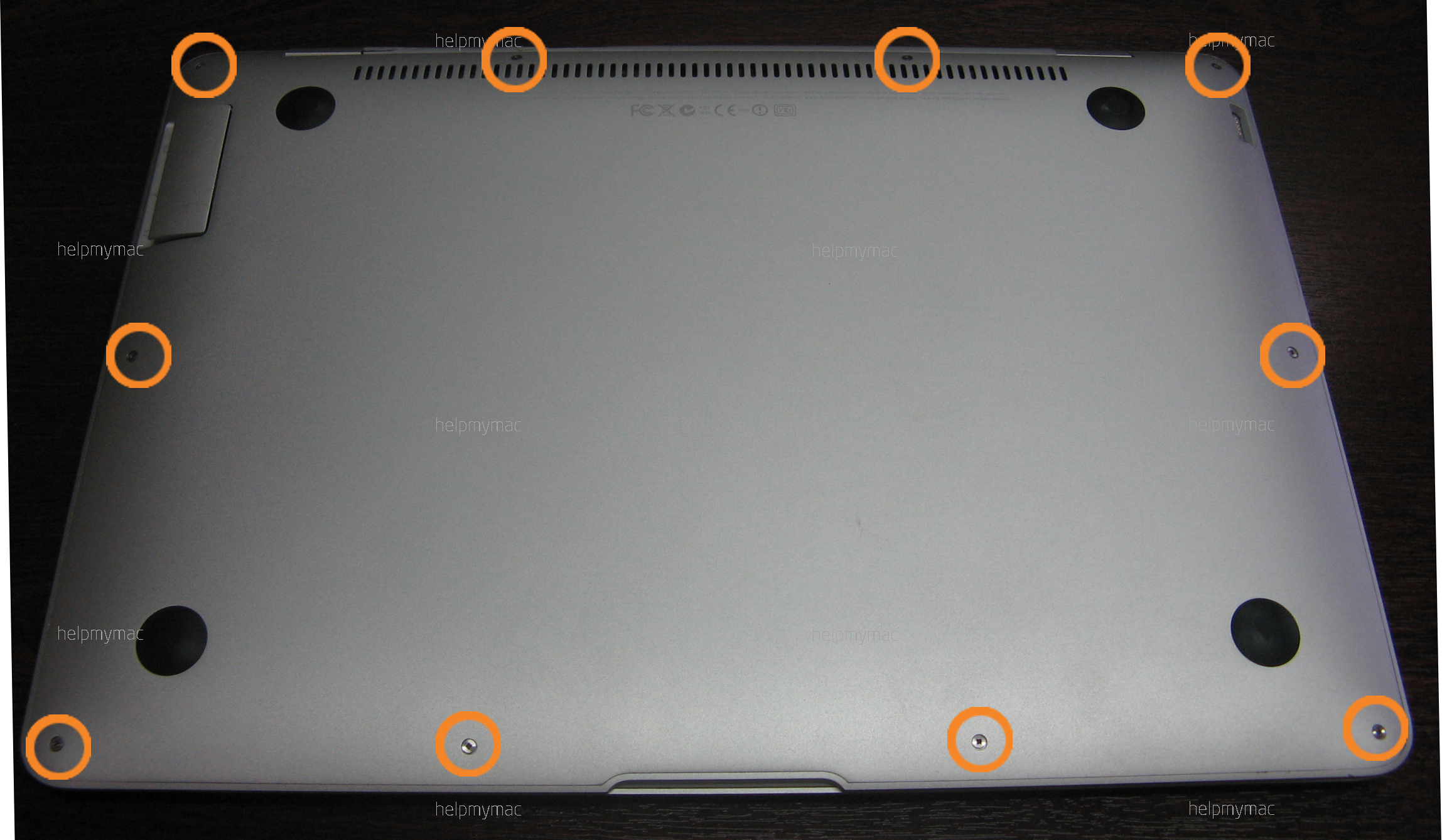 Разбирка MacBook Air