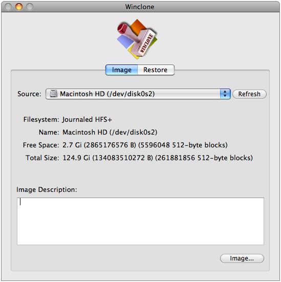 Образ системы Windows на Mac OS