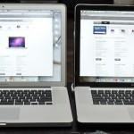 Сравнение матриц MacBook Pro и MacBook Pro High Resolution