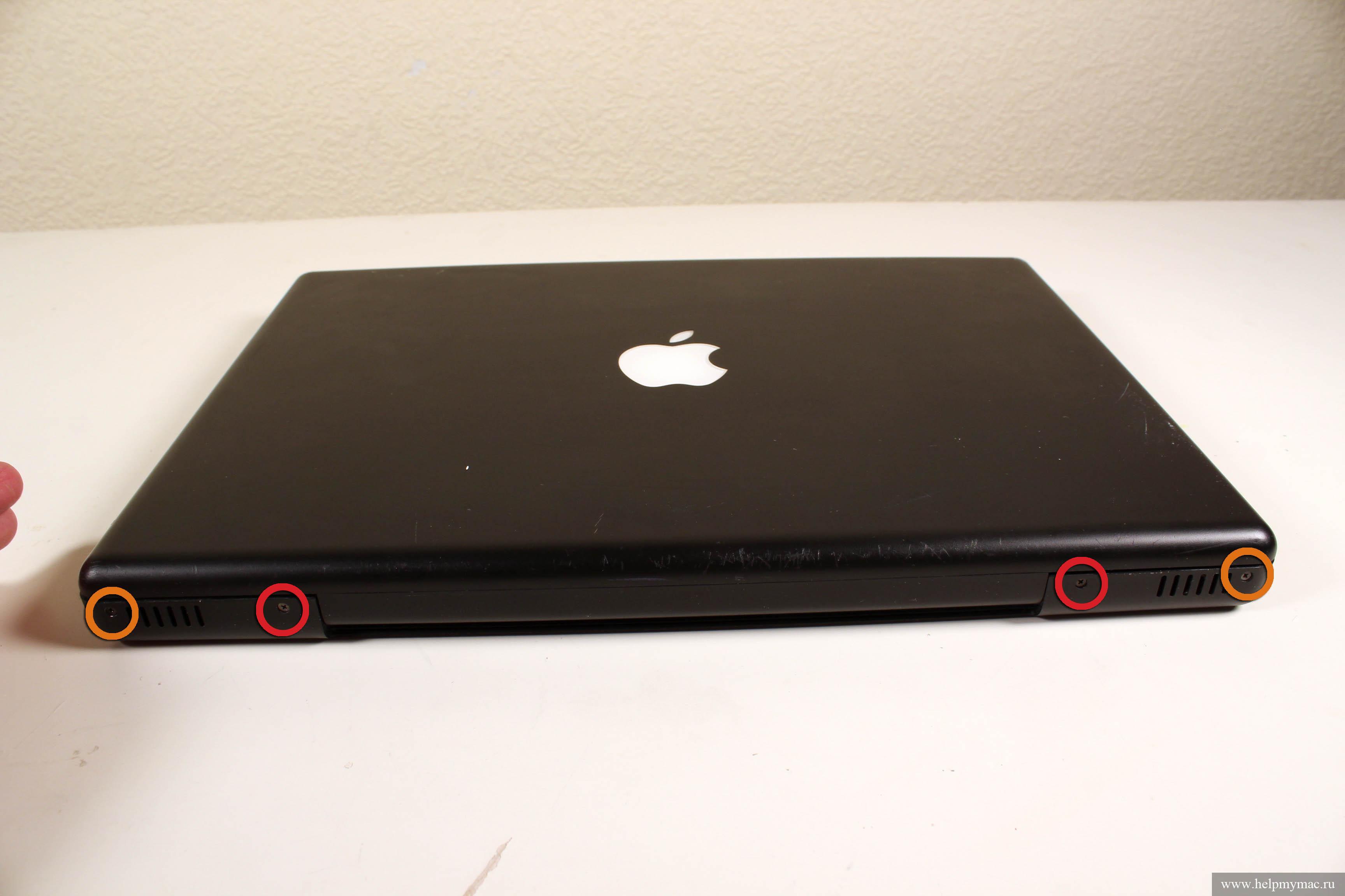 Замена термопасты MacBook A1181